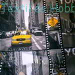 NEW YORK mintás pamutvászon (160 cm)