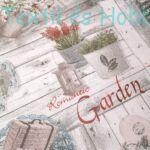 garden - dekorvászon