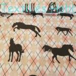 lovas pamutvászon (rózsaszín kárómintás)