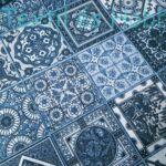 Mozaik mintás dekorvászon