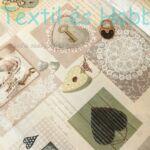 szürke szíves - kulcsos dekortextil