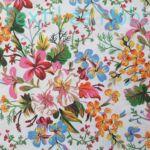 Tavaszi virágos dekorvászon