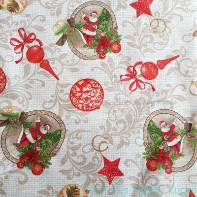 karácsonyi dekorvászon