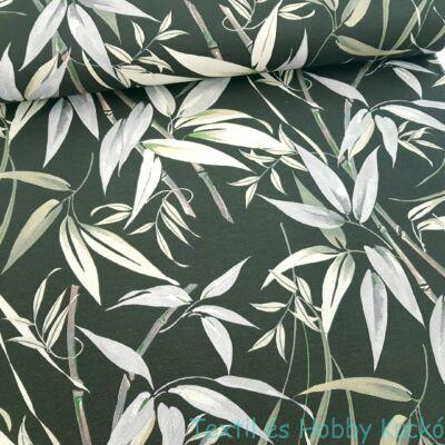 Bambuszos dekorvászon