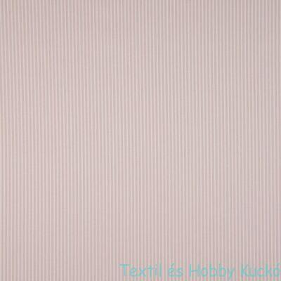 Dusty Pink csíkos PRÉMIUM pamutvászon - 1 mm