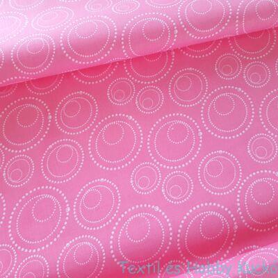 Buborékos pamutvászon - rózsaszín