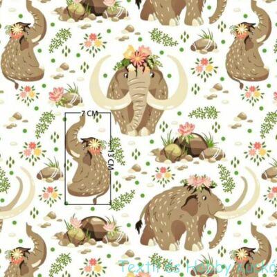 Mammutos pamutvászon