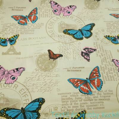 Pillangós dekorvászon