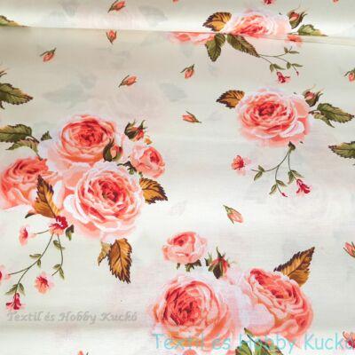 rózsás pamutvászon