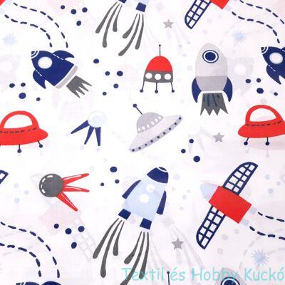 Űrhajós pamutvászon (160 cm)