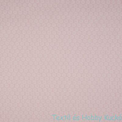 Dusty Pink virágmintás PRÉMIUM pamutvászon