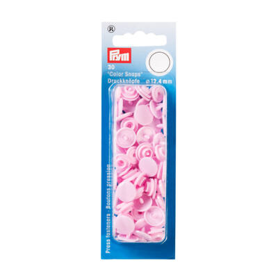 PRYM műanyag patent - Rózsaszín