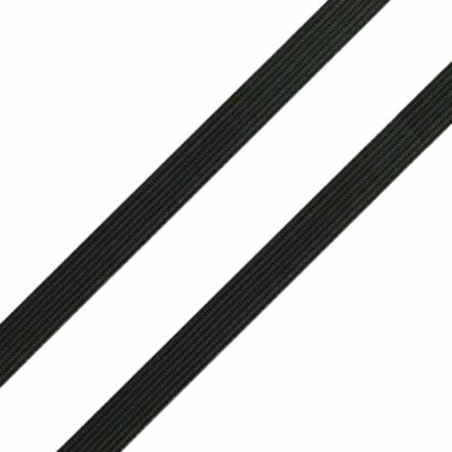 Gumipertli 7-8 mm - fekete