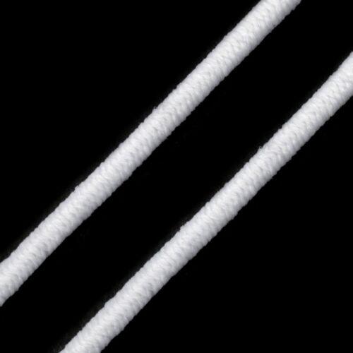 Kalapgumi 3 mm - fehér