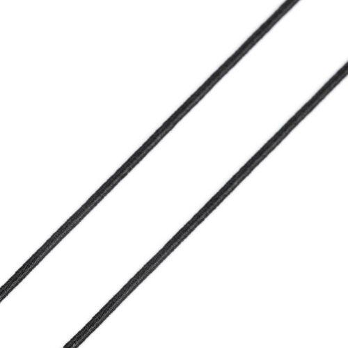 Kalapgumi 1 mm - fekete