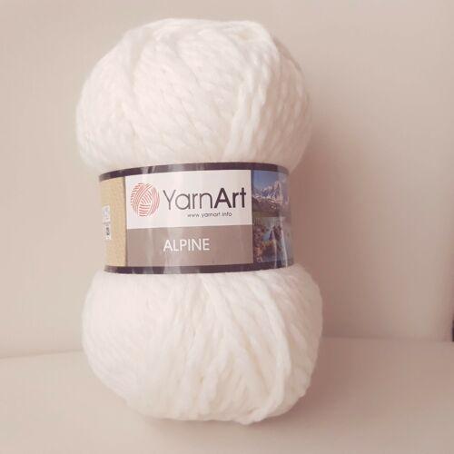 YarnArt Alpine - 330 - Fehér