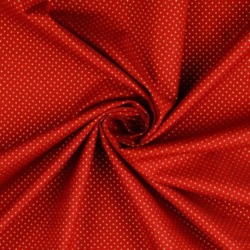 arany pöttyös karácsonyi pamutvászon piros alapon