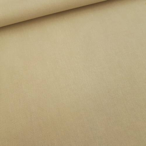 Cappuccino színű pamutvászon - 160 cm