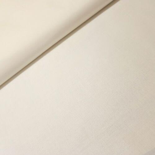 Ecrü színű pamutvászon - 160 cm