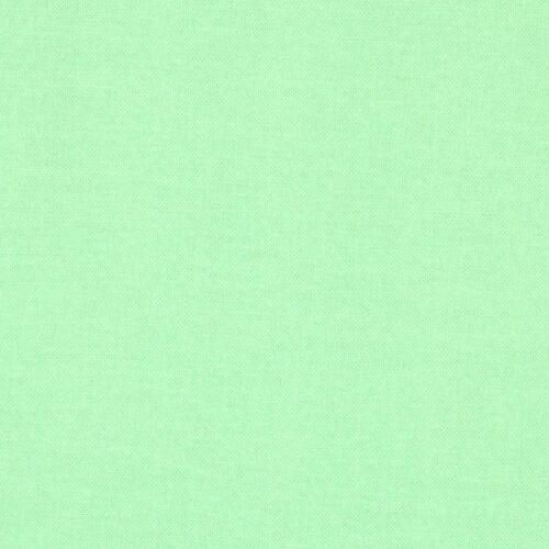 Világoszöld egyszínű pamutvászon - menta