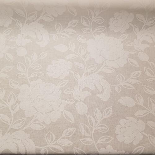 Fehér rózsás impregnált vászon