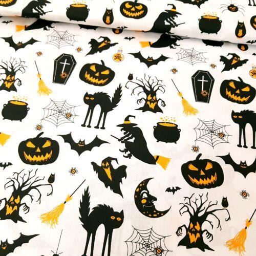 Halloweenes pamutvászon