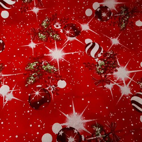 Karácsonyfadíszek csillogva - karácsonyi dekorvászon