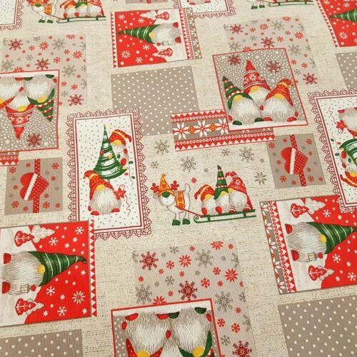 Karácsonyi manók képkeretben - dekorvászon