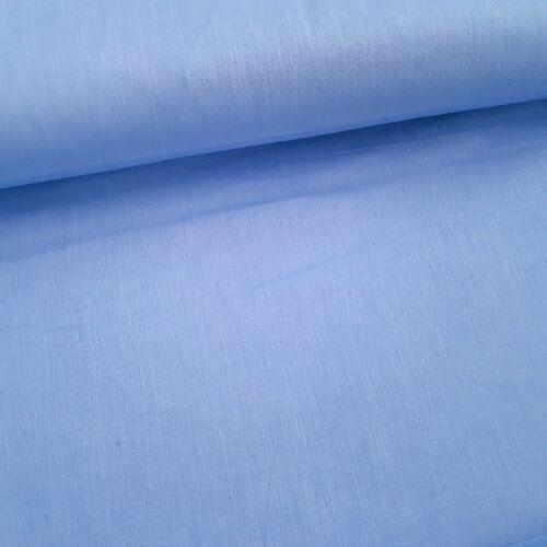 Kék pamutvászon - 160 cm