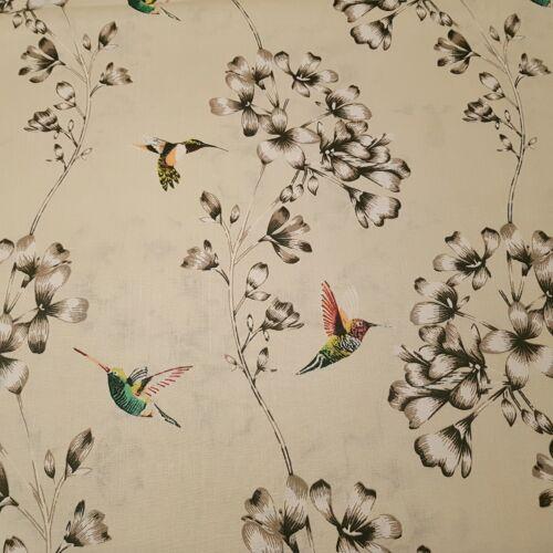 Kolibri madaras pamutvászon
