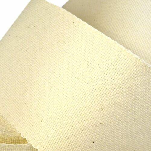 Hímezhető kongré szalag - Ecrü - 10 cm