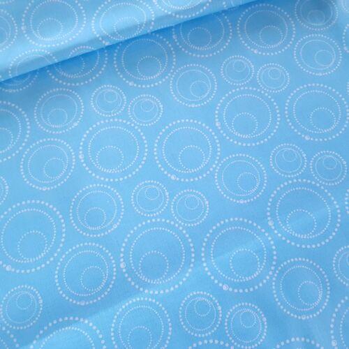 Buborékos pamutvászon - kék