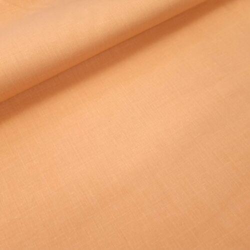 Korall színű pamutvászon - 160 cm