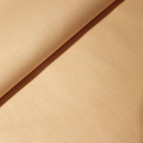 Krém - testszínű pamutvászon