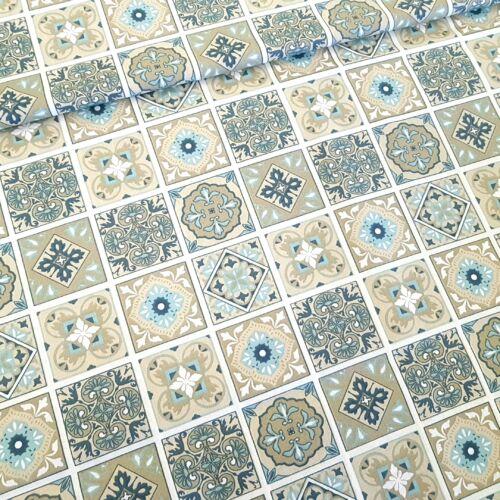Marokkói mozaik mintás pamutvászon