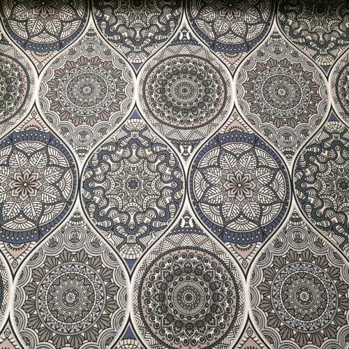 Molly szürkés mandalás dekortextil