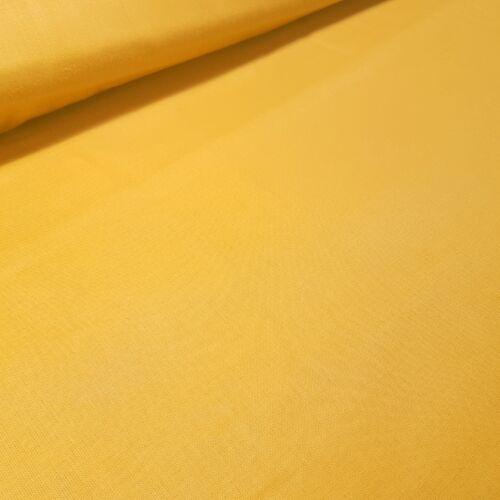 Mustár színű pamutvászon - 160 cm