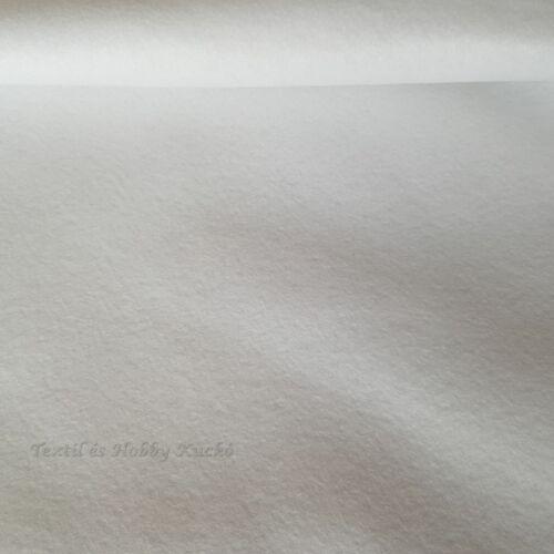 Filc - Polyfilc (180cm) - fehér