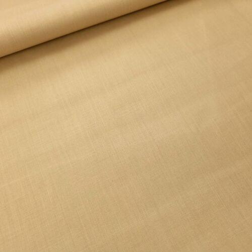Raffia színű pamutvászon