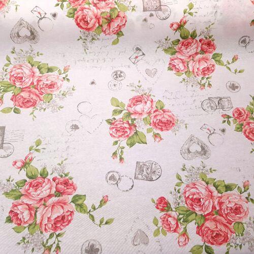 Rózsás impregnált vászon