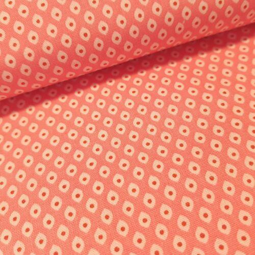 Rózsaszín mintás pamutvászon