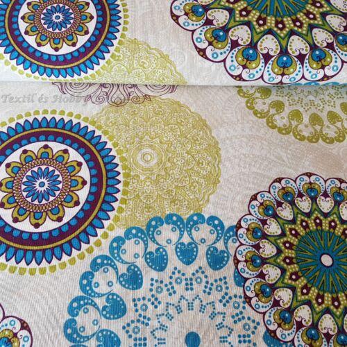 Színes mandalás dekortextil