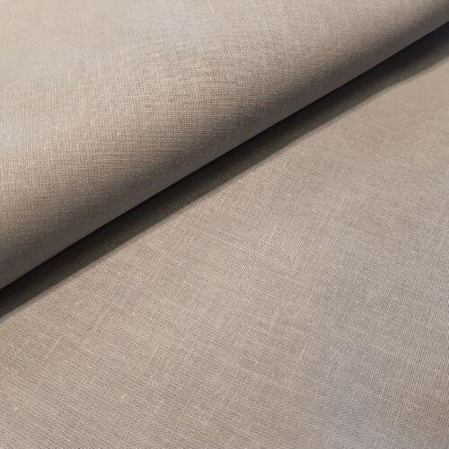 Közép szürke pamutvászon - 160 cm