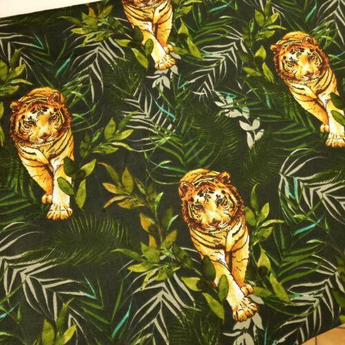 Tigrises pamutvászon - 160 cm