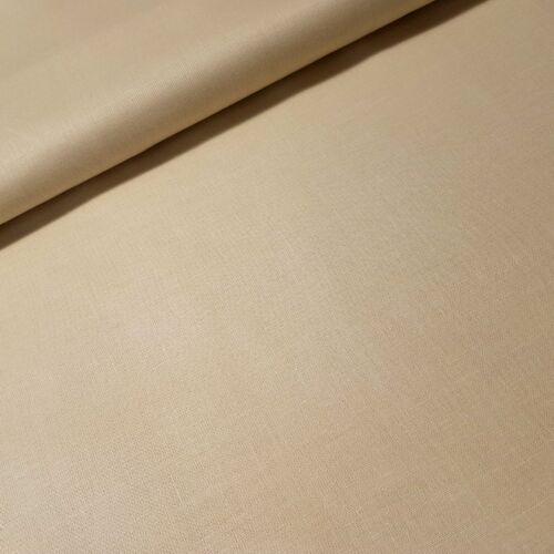Világos cappuccino színű pamutvászon