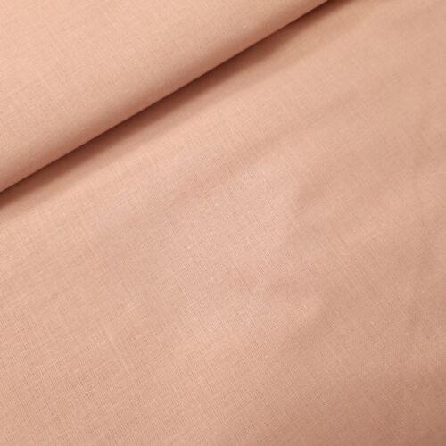 Világos púder színű pamutvászon - 160 cm