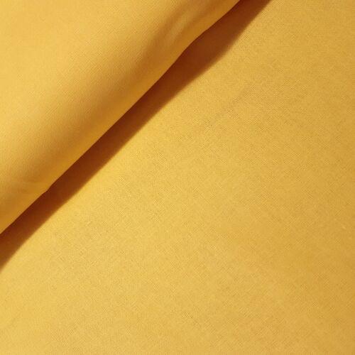 Világos mustár színű pamutvászon