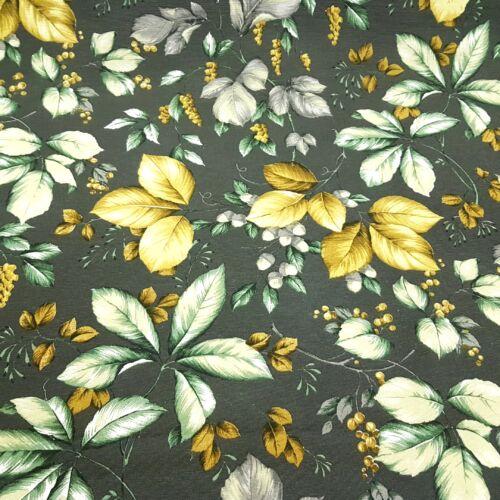 Zöldes leveles dekorvászon